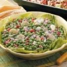 Light and Crunchy Pea Salad