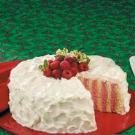 Raspberry Ribbon Cake