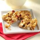 White Chip Cranberry Granola Bars