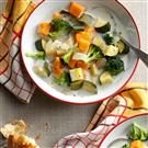 Creamy Sweet Potato and Veggie Soup
