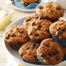 Traditional Chocolate Chip Muffins