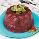 Flavorful Cranberry Gelatin Mold