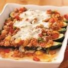 Saucy Stuffed Zucchini