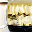 Spinach Chicken Manicotti