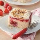 Coffee Cake with Raspberry Filling