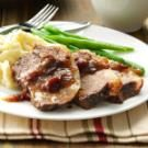 Brisket with Cranberry Gravy