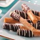 Chocolate-Dipped Phyllo Sticks