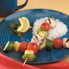 Honey Rosemary Chicken Kabobs for Two