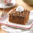 Gingerbread with Crunchy Topping