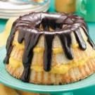 Boston Cream Angel Cake