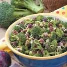 Curried Broccoli Salad