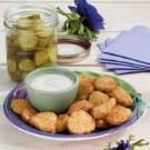 Fried Dill Pickle Coins