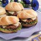 Provolone Burgers