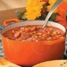 Autumn Sausage Corn Soup
