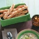 Easy Sesame Breadsticks