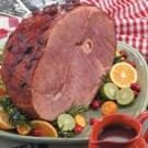Winning Cranberry Glazed Ham