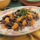 Orange Beef Teriyaki