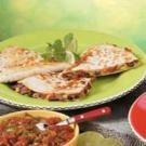 Bean 'N' Beef Quesadillas
