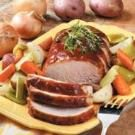 Pork Roast Supper