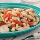 Cannellini Bean Salad with Roasted Peppers