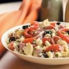 Artichoke Turkey Salami Salad