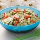 Sweet and Tangy Cucumber Salad