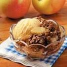 Grilled Apple Crisp