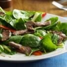 Spinach Beef Salad