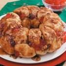 Cherry Almond Pull-Apart Bread