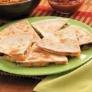 Cheddar Bean Quesadillas