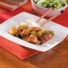 Sweet-and-Sour Garlic Pork Dish