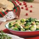 Fast Lemony Brussels Sprouts