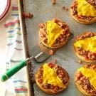 Broiled Pizza Burgers