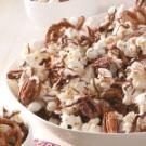 Striped Chocolate Popcorn