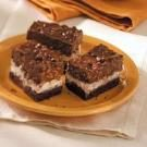 Triple-Tier Brownies