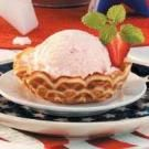 Strawberry Orange Ice Cream
