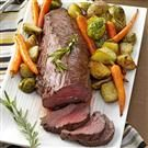 Beef Tenderloin with Roasted Vegetables