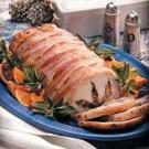 Wild Rice-Stuffed Pork Loin