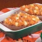 Twice-Baked Ham Sweet Potatoes