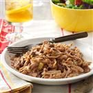 Shredded Pork with Beans