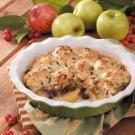 Quick Cran-Apple Cobbler