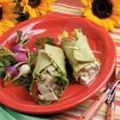 Turkey Salad Wraps