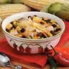 Southwestern Chicken Black Bean Soup