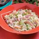 Shrimp and Ham Alfredo