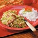 Pork Cabbage Saute