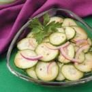 Asian Onion Cucumber Salad