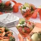 Gazpacho Shrimp Appetizer