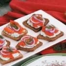 Smoked Salmon Canapes