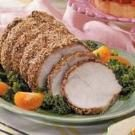 Sesame-Crusted Pork Loin