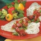 Herbed Tomato Fish Bake
